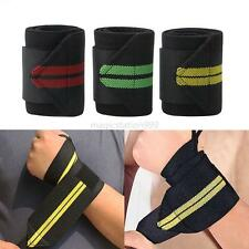 Weight Lifting Wrist Support Bandage Strap Gym Fitness Training Wrist Wraps