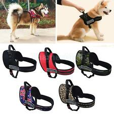 Pet Harness Large Dog Stop Pulling Vest Soft Padded Strap Belt 5 Colors XS--XL