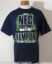 NWT NFL Seattle Seahawks Mens 2013 NFC Champions S/S T-Shirt XL Navy MSRP$35