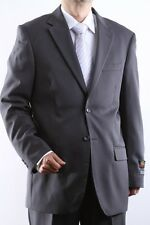 MENS TWO BUTTON SUPERIOR 100 GRAY DRESS SUIT, SML-60212S-60206-GRE