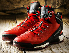 NIB Men's ADIDAS D Rose 6 Boost S85533 Scarlet Basketball Shoes $140 Sneakers