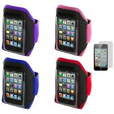 Gym Sports Armband Case Cover+Screen Protector for iPod Touch 4th 3rd 2nd Gen