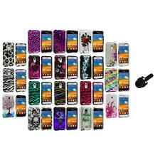 Design Hard Case Cover+Mini Stylus for Samsung Epic Touch 4G Sprint Galaxy S2