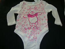 DISNEY WINNIE THE POOH BODY SUIT  NWTS  ADORABLE PRINT