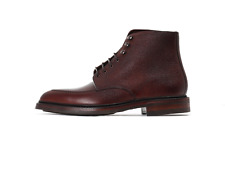 Loake Anglesey Apron Derby Boot - Oxblood Grain