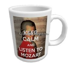 Personalised Mug - Keep Calm and Listen to Mozart