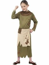 Horrible Histories Revolting Peasant Girl Fancy Dress Costume Book Week
