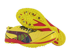 Puma Haraka Xcs Mens Track And Field Shoes Yellow/red/black Size