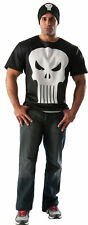 Punisher Adult Mens Costume Marvel Universe Deluxe Comics T-Shirt Rubies