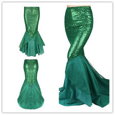 Adult Mermaid Fancy Dresses Cosplay Ladies Christmas Costume Party Masquerade