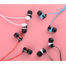 3.5mm Heavy Bass In-Ear Earphone Sport Earbuds With Mic For iPhone 6 6S Plus Lot