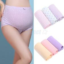 SOFT Women Maternity Pregnancy Underwear Support Cotton Briefs
