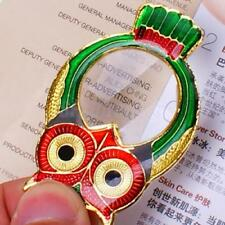 Fashion OWL Pendant Magnifier Magnifying Glass Necklace NEW