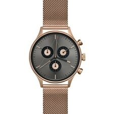 Cronometrics The Engineer PVD Rose Gold Watch | Stainless Steel Milanese