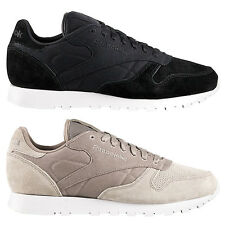 Reebok Classic Leather CC Men's Sneakers Shoes Sneakers Black Beige NEW CL