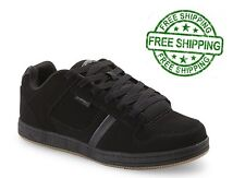 Casual Sneakers Men's Athletic Shoes All Sizes Comfortable Suede-like Black NEW