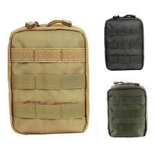 Tactical Molle Medical First Aid Kit Pouch Outdoor Utility Bag Rescue IFAK Pack