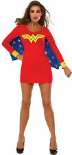 Wonder Woman Wing Adult Sexy Womens Costume Red Sheath Fancy Dress Up Rubies