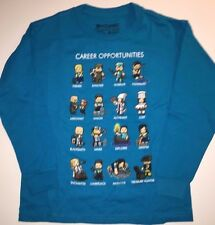 MINECRAFT Careeer Opportunities T- Shirt  Sizes Boys Small Medium Large XL
