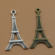 20/100pcs Exquisite Alloy Retro Style Fashion Eiffel Tower Charm Pendant 20X35MM