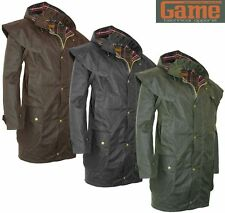 Mens Game Kensington Antique Wax Short Cape Coat | Jacket