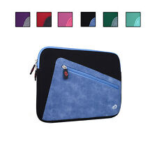 Neoprene Sleeve w/ Front Accessory Pocket fits ASUS MeMO Pad FHD 10, Smart 10