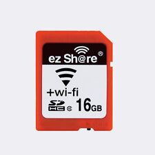 16GB 32GB ez Share WIFI SDHC Flash Air Wireless LAN Class 10 SD Memory Card