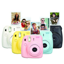 Fujifilm Instax Mini 8+ Fuji Instant Camera with Film Cheki Polaroid Photo New