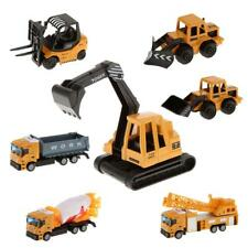 1:64 Scale Diecast Construction Truck Car Vehicle Model Kids Educational Toys