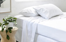 Cotton Percale Sheet Set | 300TC | Percale Weave Construction | Great Durability