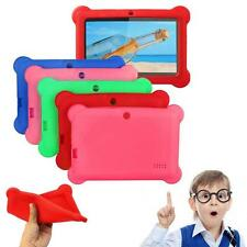 "Cute Soft Silicone Gel Case Cover For 7"" Android A13 A23 Q88 Tablet PC Kids KJ"