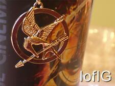 The Hunger Games, Mockingjay Bird Pendant & Long Necklace, Gold & Bronze, New