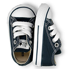 Converse All Star OX Navy Blue Infant Trainer