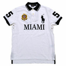 Polo Ralph Lauren Custom Fit MIAMI City Shirt Big Pony/Crest S, M. L, XL, XXL