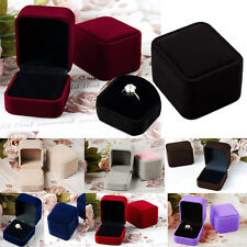 New Velvet Engagement Wedding Pendant Jewelry Display Box Gift For Earrings Ring