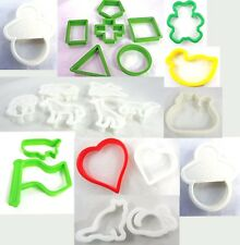 Plastic Cookie Cutters ~ Many Shapes & Sizes ~ You Choose!!!