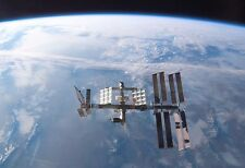 International Space Station In Earth's Orbit - Space Poster - Space Photo - NASA