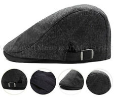 New Cotton Flat Cabbie Newsboy Gatsby Hat Unisex Beret Cap Ivy
