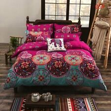 NEW Vintage Bohemian Mandala Bedding Quilt Duvet Cover Set Twin Full/Queen King