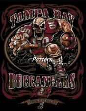Tampa Bay Buccaneers Mascots, Helmets etc. Cross Stitch Patterns. Paper or PDF.