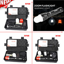 G700 X800 XML T6 LED Zoom Tactical Military Flashlight 5000lm Super Torches Set