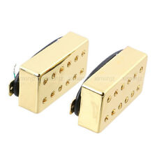 Pair Double Coil Humbucker Pickup Neck and Bridge 6 String LP