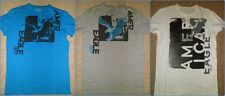 NWT AE AMERICAN EAGLE MEN'S GRAPHIC HENLEY T-SHIRT