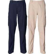 Mens Front Row 100% Cotton Cargo Trousers Pant Bottoms