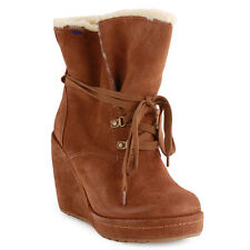 Rocket Dog Barney Womens Boots Chestnut New Shoes