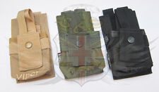 VIPER MILITARY MOLLE GPS OR RADIO COMMS POUCH,CRYE MULTICAM,TAN,BLACK,GREEN,NAV
