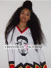 Chantiche Curly Lace Fornt Wig Indian Remy Human Hair Full Lace Wigs Black Women
