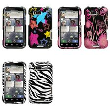 For Motorola Defy MB525 Design Snap-On Hard Case Phone Cover