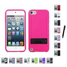 For Apple iPod Touch 5th 6th Gen TPU Hard Case Skin Phone Cover Stylus Pen