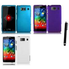 For Motorola Droid Razr HD XT926 Matte Snap-On Hard Case Cover Stylus Pen